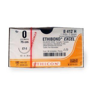 ETHIBOND 1/0 AG CT-2 1/2 CIRC C/36