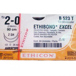 ETHIBOND 2/0 AG SH D/A AHUD 1/2 C/24