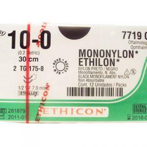 ETHILON 10/0 AG GS-10 D/A ESPT 1/2 C/12