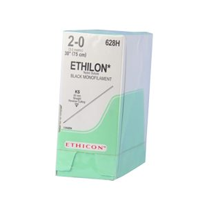 ETHILON 2/0 AG KS RECTA CORTANTE C/36