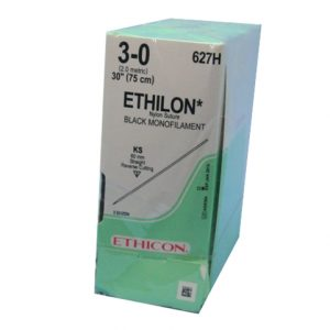 ETHILON 3/0 AG KS RECTA CORTANTE C/36