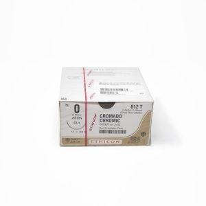 CATGUT CROMICO 1/0 AG CT-1 AHUS C/24