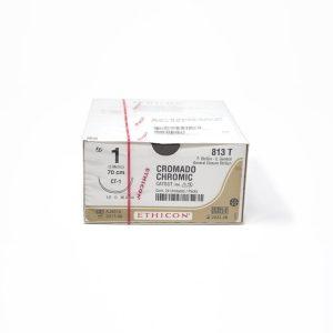 CATGUT CROMICO 1 AG CT-1 AHUS C/24