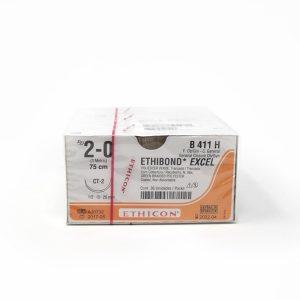 ETHIBOND 2/0 AG CT-2 1/2 CIRC C/36