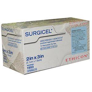 SURGICEL 5X7.5 CMS C/12