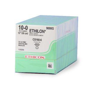 ETHILON OFTALMICA 10/0 30 CS-160-6 1/2 5.5M C/12