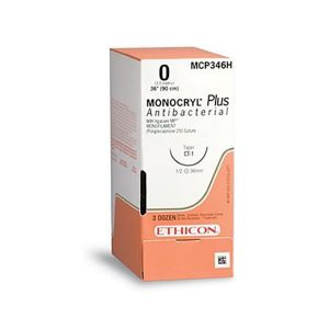 MONOCRYL PLUS 0 CT-1 1/2 CIRC C/36