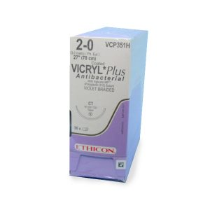 VICRYL PLUS 2/0 AG CT C/36