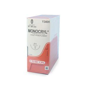 MONOCRYL 1/0 AG CT-1 ½CIRC CJ C/36
