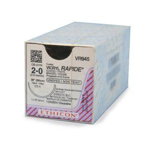 VICRYL RAPIDE 2/0 AG CT-1 1/2 CIR C/12