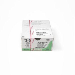 ETHILON 3/0 AG SC-24 3/8 CIRC C/24