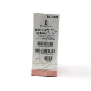 MONOCRYL PLUS 1/0 AG CT-1 ½ CIRC C/36
