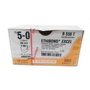 ETHIBOND 5/0 AG RB-1 D/A AHUS C/24