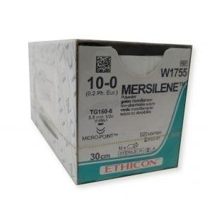 MERSILENE 10/0 OFTALMICA C/12