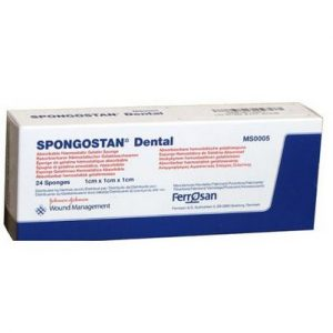 SPONGOSTAN DENTAL 10*10*10MM C/24