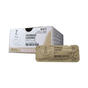 CATGUT CROMICO 2 AG CT-1 AHUS C/24