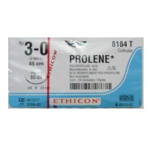 PROLENE 3/0 AG FS-1 3/8 CIRCULO C/24