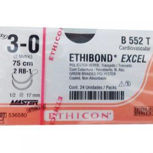 ETHIBOND 3/0 AG D/ARM RB-1 AHU C/24